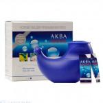 Аква Марис Устройство для промывания носа + пакетики-саше с обогащенной морской солью №30