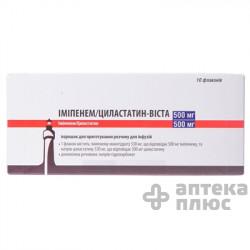 Имипенем И Циластатин порошок для инфузий 1000 мг флакон №10