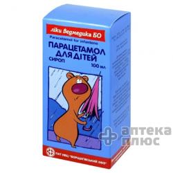 Парацетамол сироп 100 мл банка №1
