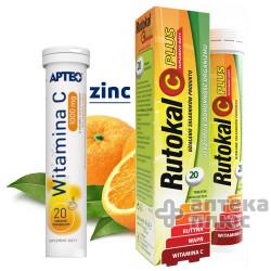 Витамин С + цинк, 1000 мг 20 шт. (Польша)