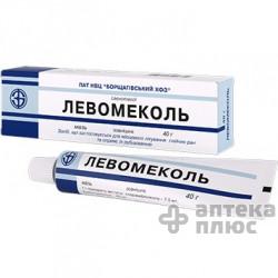 Левомеколь мазь туба 40 г №1