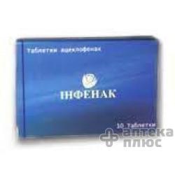 Инфенак таблетки п/о 100 мг №10