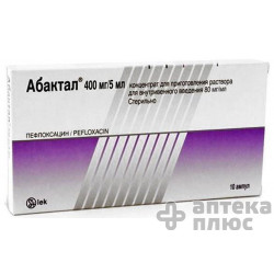 Абактал конц. для инъекций 400 мг ампулы 5 мл №10