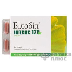 Билобил Интенс капсулы 120 мг №20