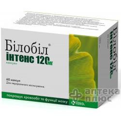 Билобил Интенс капсулы 120 мг №60