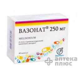 Вазонат капсулы 250 мг №40