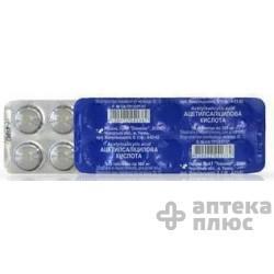 Ацетилсалициловая Кислота таблетки 500 мг №10