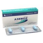 Азимед таблетки п/о 500 мг №3