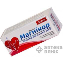 Магникор таблетки п/о форте №100