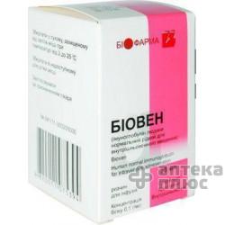 Биовен раствор для инфузий 10% флакон 25 мл №1