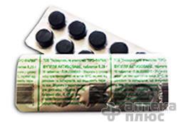 Уголь Активированный таблетки 250 мг №10