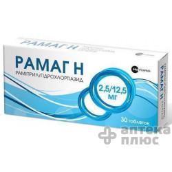 Рамаг Н табл. 15 мг №30