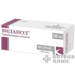 Виданол таблетки п/о 500 мг блистер №60