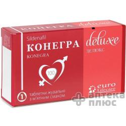 Конегра Делюкс таблетки жев. 100 мг №1