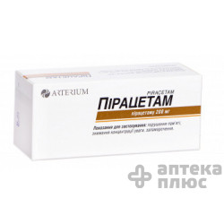 Пирацетам таблетки п/о 200 мг №60