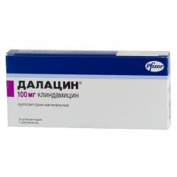 Далацин суппозитории вагин. 100 мг №3