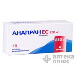 Анапран Ec таблетки кишечно-раств. 250 мг №10
