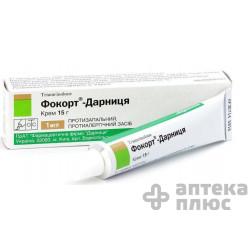 Фокорт крем 1 мг/г туба 15 г №1
