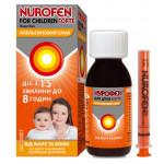 Нурофен Для Детей Форте суспензия 200 мг/5 мл флакон 100 мл, апельсин