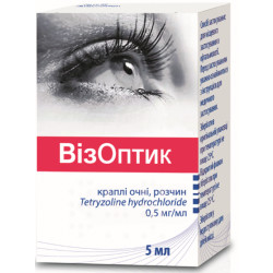 Визоптик кап. глаз. 0,5 мг/мл флакон-капельн. 5 мл №2