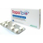 Тиара Трио табл. п/о 182,5 мг №28