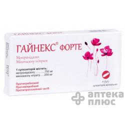 Гайнекс Форте суппозитории вагин. №7