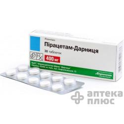 Пирацетам таблетки 400 мг №30