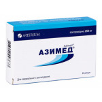 Азимед капсулы 250 мг №6