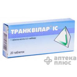 Транквилар Ic таблетки 300 мг №20