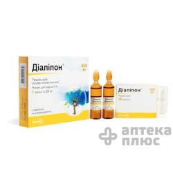 Диалипон раствор для инфузий 3% ампулы 20 мл №5