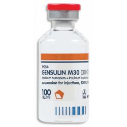 Генсулин М30 сусп. д/ин. 100 ЕД/мл фл. 10 мл №1