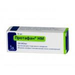 Протафан суспензия для инъекций 100 МЕ/мл флакон 10 мл №1