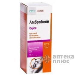 Амбробене сироп 15 мг/5 мл флакон 100 мл №1