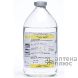 Рингера Раствор раствор для инфузий бут. 400 мл