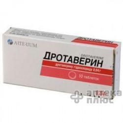 Дротаверин таблетки 40 мг №10