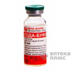 Сода-Буфер раствор для инфузий 4,2% бут. 20 мл