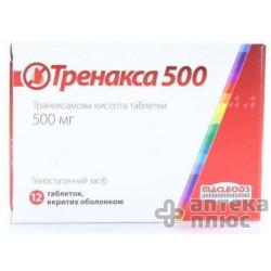 Тренакса таблетки п/о 500 мг №12