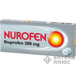 Нурофен таблетки п/о 200 мг №24