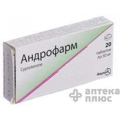 Андрофарм таблетки 50 мг №20